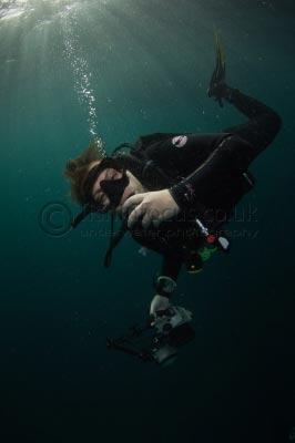 Caroline Vitalini, diver, fishinfocus, Mario Vitalini, underwater photography