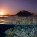 sunset, boat, Red Sea, fishinfocus, Mario Vitalini, OMD